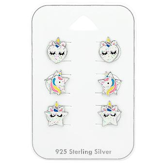 Unicorn - 925 Sterling Silver Sets - W38726X