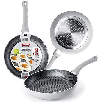 Ibili Silver Net Frying Pan 30 Cm. (Kitchen , Household , Frying Pans)