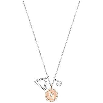 SWAROVSKI Woman steel_stainless necklace with pendant 5349218
