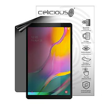 Celicious Privacy Lite (Portrait) 2-Way Anti-Glare Anti-Spy Filter Screen Protector Film Compatible with Samsung Galaxy Tab A 10.1 (2019)