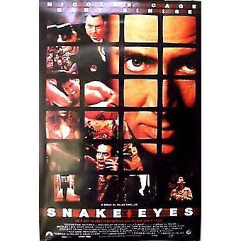Snake Eyes (Double Sided Regular) (1998) Original Kino Poster