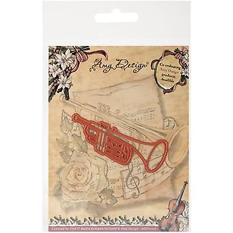 Find It Trading Amy Design Vintage Christmas Die-Trumpet ADD10012
