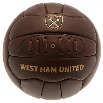 West Ham United Retro Heritage Football