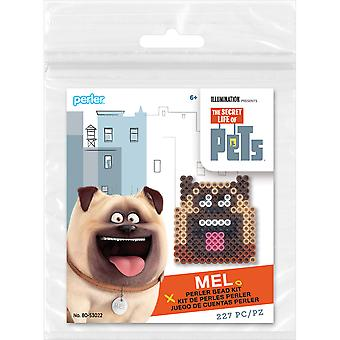 Perler Secret Life Of Pets Fused Bead Kit-Mel SLOPTK80-53022