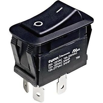Toggle switch 250 Vac 10 A 1 x Off/On TE Connectivity 1571095-2 latch 1 pc(s)