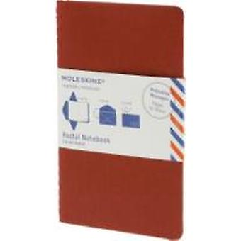Moleskine Postal Notebook  Pocket Cranberry Red by Moleskine