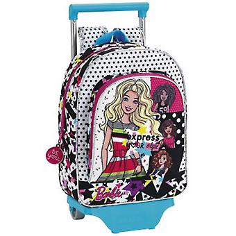 Safta Mochila Infantil Con Ruedas Barbie You Can Be (Toys , School Zone , Backpacks)