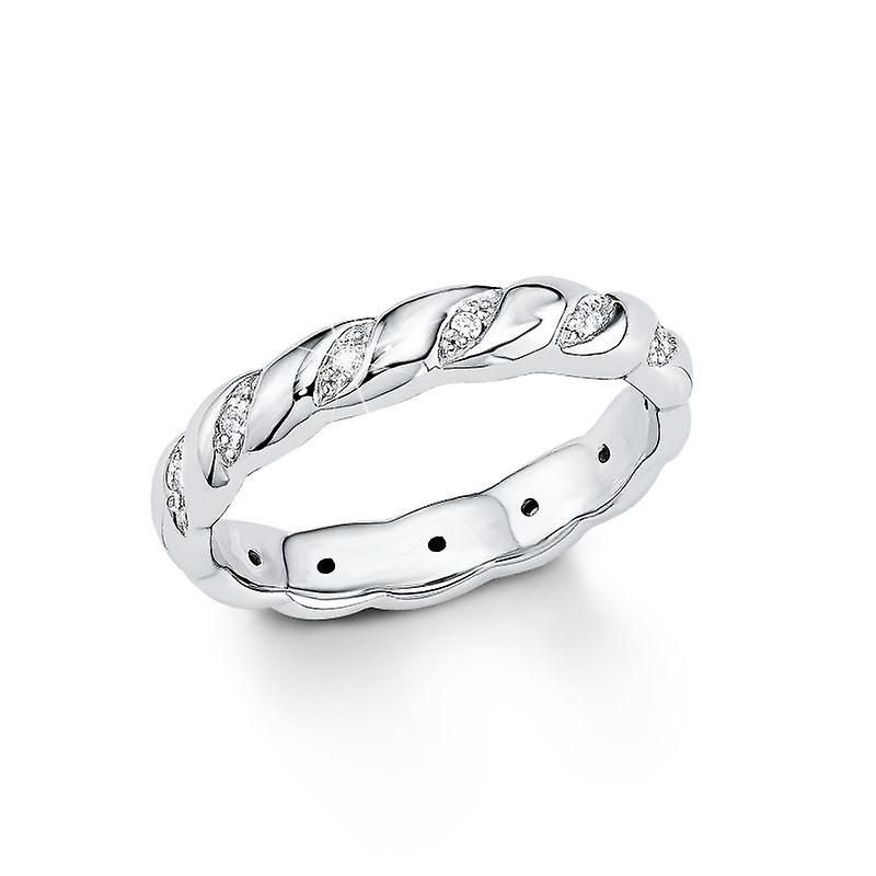 s.Oliver Jewel ladies ring silver Zirkonia SO1134