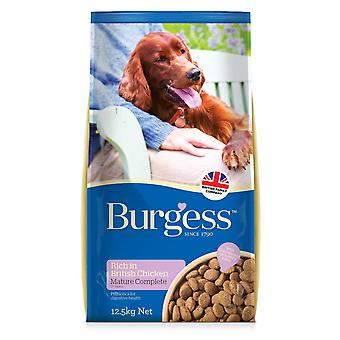 Burgess Mature Dog Chicken 12.5kg