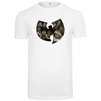 Wu-wear hip hop white shirt - CREW