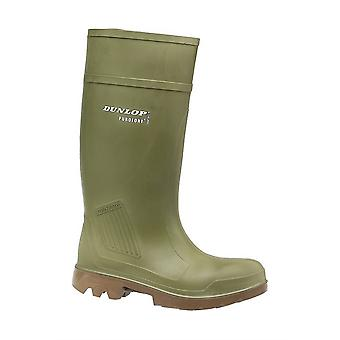 Dunlop Purofort D460843 All Terrain Mens Boots Waterproof Pu Construction Green