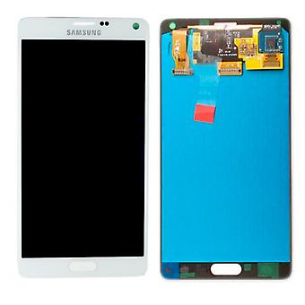 Display LCD complete set GH97 16565A white Samsung Galaxy touch 4 N910F