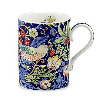 Royal Worcester Morris & Co Strawberry Thief Mug, Indigo