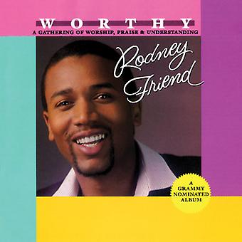 Rodney Friend - värdig [CD] USA import