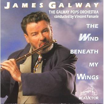 James Galway - importation USA vent sous mes ailes [CD]