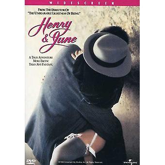 Henry & June [DVD] USA import