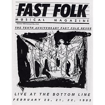 Revista Musical popular rápido - Vol. 6-Fast popular revista Musical (4) Fast Fol [CD] USA importar