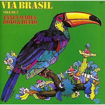 Tania Maria - Tania Maria: Vol. 2-via Brasil [CD] USA import