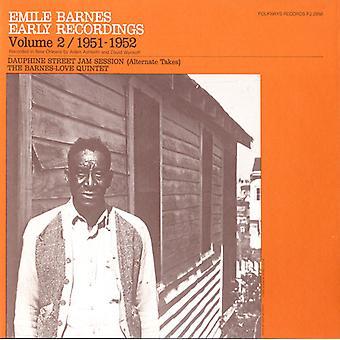 Emile Barnes - Vol. 2-Emile Barnes: Early Recordings (1951-1952) [CD] USA import