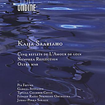 K. Saariaho - Kaija Saariaho: Cinq Reflets De L'Amour De Loin; Nymphea Reflection; Oltra Mar [CD] USA import