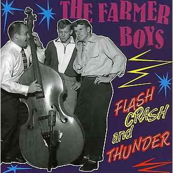 Farmer Boys - Flash Crash & Thunder [CD] USA import