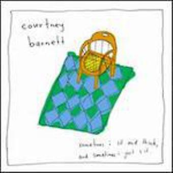 Courtney Barnett - nogle gange jeg sidde & tror & nogle gange jeg bare sidde [CD] USA importerer