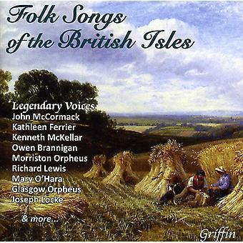 Folkesange af de britiske øer - folkesange af britiske øer [CD] USA importen