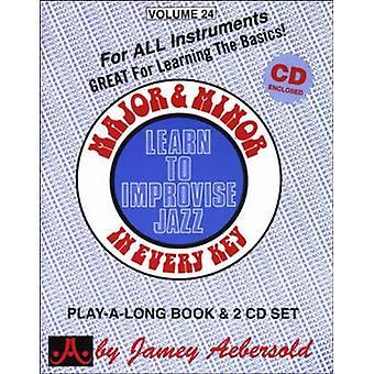 Major & Minor-lære at improvisere Jazz - Major & Minor-lære at improvisere Jazz [CD] USA import