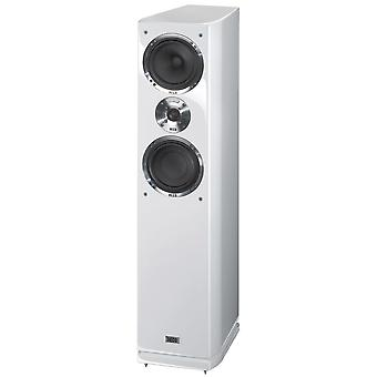 Heco Celan GT 502, 3-way bass reflex Floorstanding speaker, color: white 1 piece B-stock