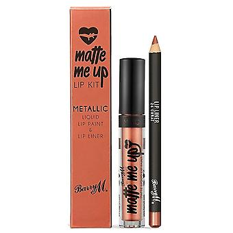 Barry M Barry M Matte Me Lip Kit - 24 karaat