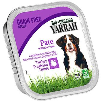 Yarrah Terrine for dogs with turkey and aloe vera 150 g bio (Dogs , Dog Food , Wet Food)