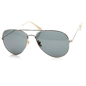 Klassisk oprindelige Pilot Metal Aviator solbriller