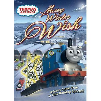 Thomas & venner - glædelig vinter ønske [DVD] USA import