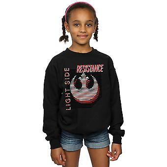 Star Wars Girls The Last Jedi Light Side Sweatshirt