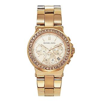Michael Kors Watches Mk5586 Mini Dylan Rose Gold Chronograph Ladies Watch