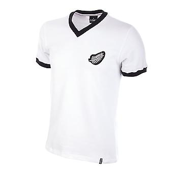 New Zealand World Cup 1982 Kurzarm Retro-Fußballtrikots