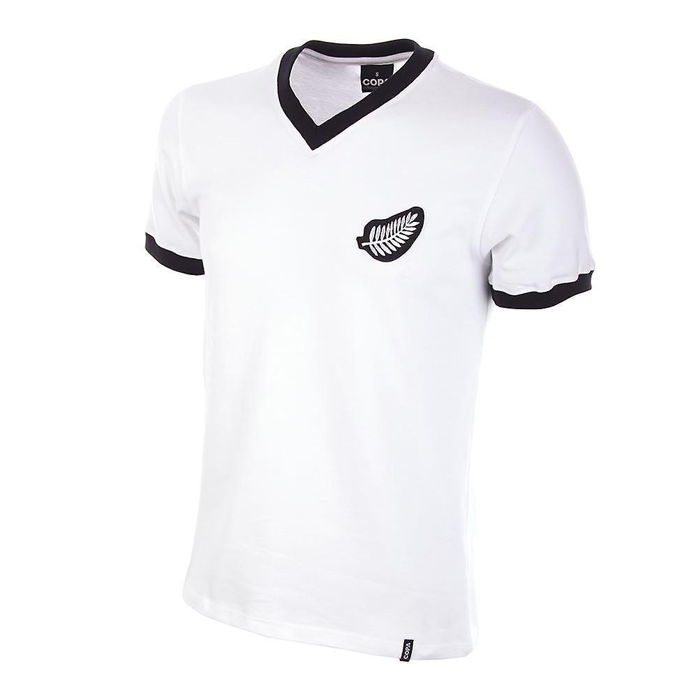 New Zealand World Cup 1982 Short Sleeve Retro Football Shirt