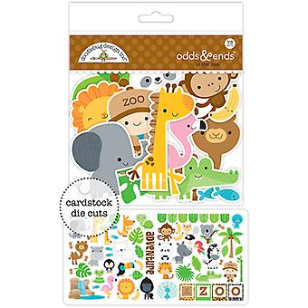 Doodlebug Odds & Ends Die-Cuts-At The Zoo ATZ5600