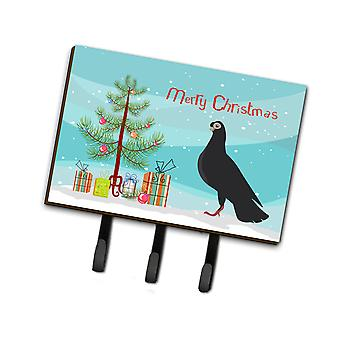 Budapest Highflyer Pigeon Christmas Leash or Key Holder