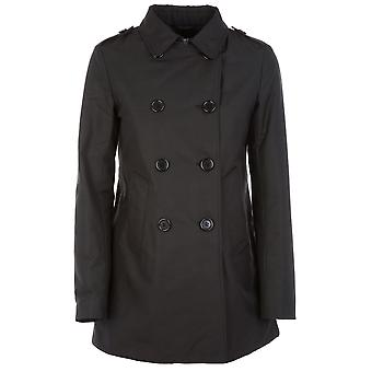 Aspesi ladies 6N20753269241C black cotton coat
