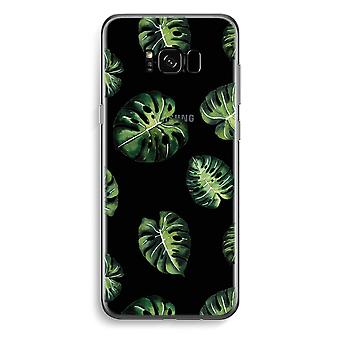 Custodia trasparente Samsung Galaxy S8 - Tropical leaves