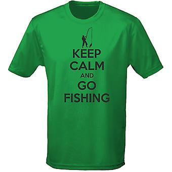 Keep Calm And Go Fishing Kids Unisex T-Shirt 8 Colours (XS-XL) by swagwear