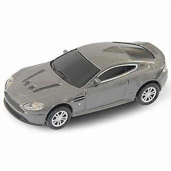 Aston Martin Vantage V12 Car USB Memory Stick 4Gb - Grey