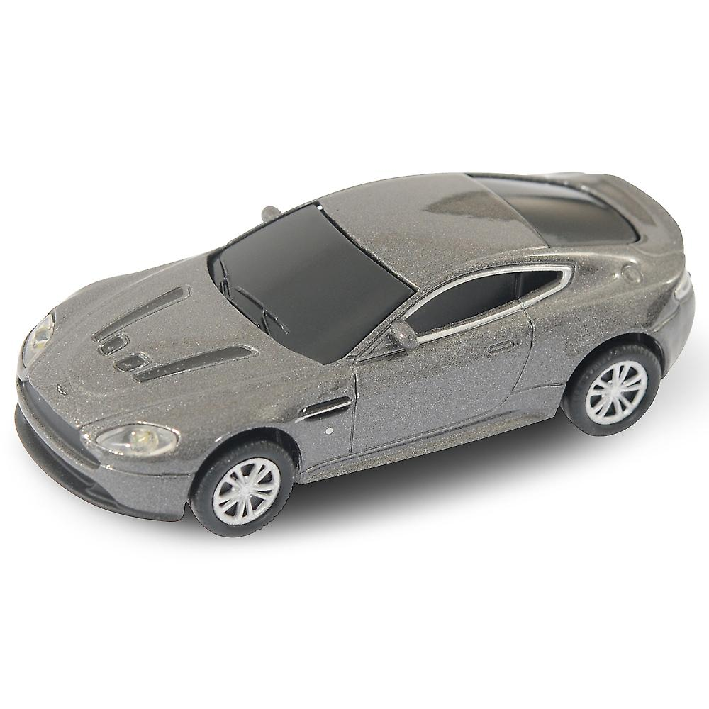 Aston Martin Vantage V12 Coupé Memory Stick USB 8Gb - Grigio