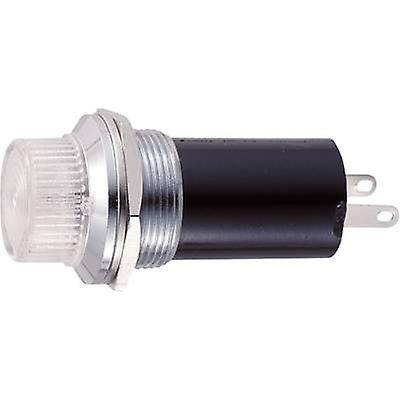 Standard indicator light with bulb Clear B-114