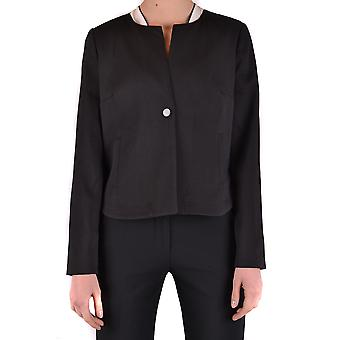 Armani Jeans for women MCBI025235O black viscose Blazer