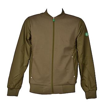 Save the duck men's D3499MFEEL601064 green polyester jacket
