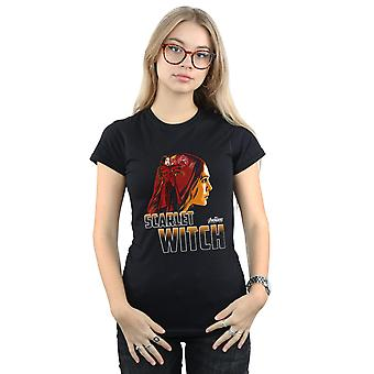 Infinity War Scarlet Witch caractère T-Shirt Vengeurs féminines