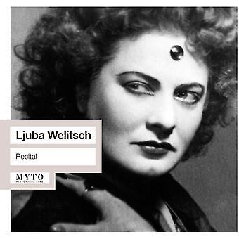 Ljuba Welitsch - Recital: Salome / Giovanni Don / Ballo / Tosca [CD] USA import