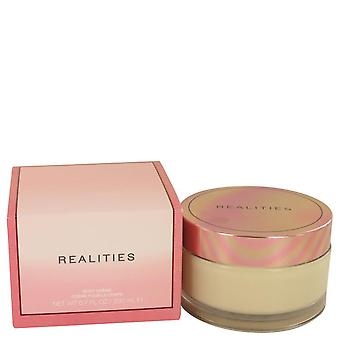 Realities (new) Body Cream Glass Jar By Liz Claiborne